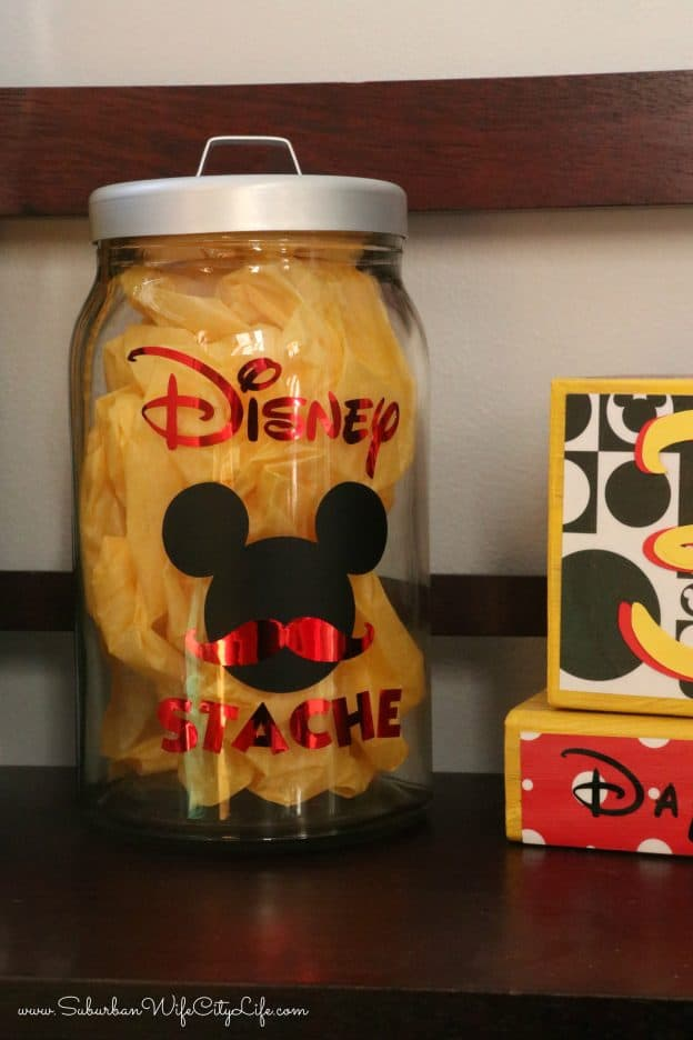 DIY Disney Stache Cricut