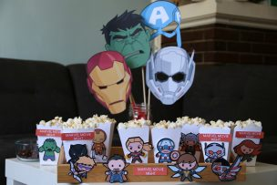Marvel Movie Night with Cricut