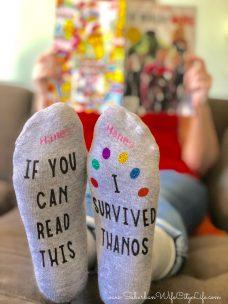 Marvel Socks #CricutMade #CricutMaker
