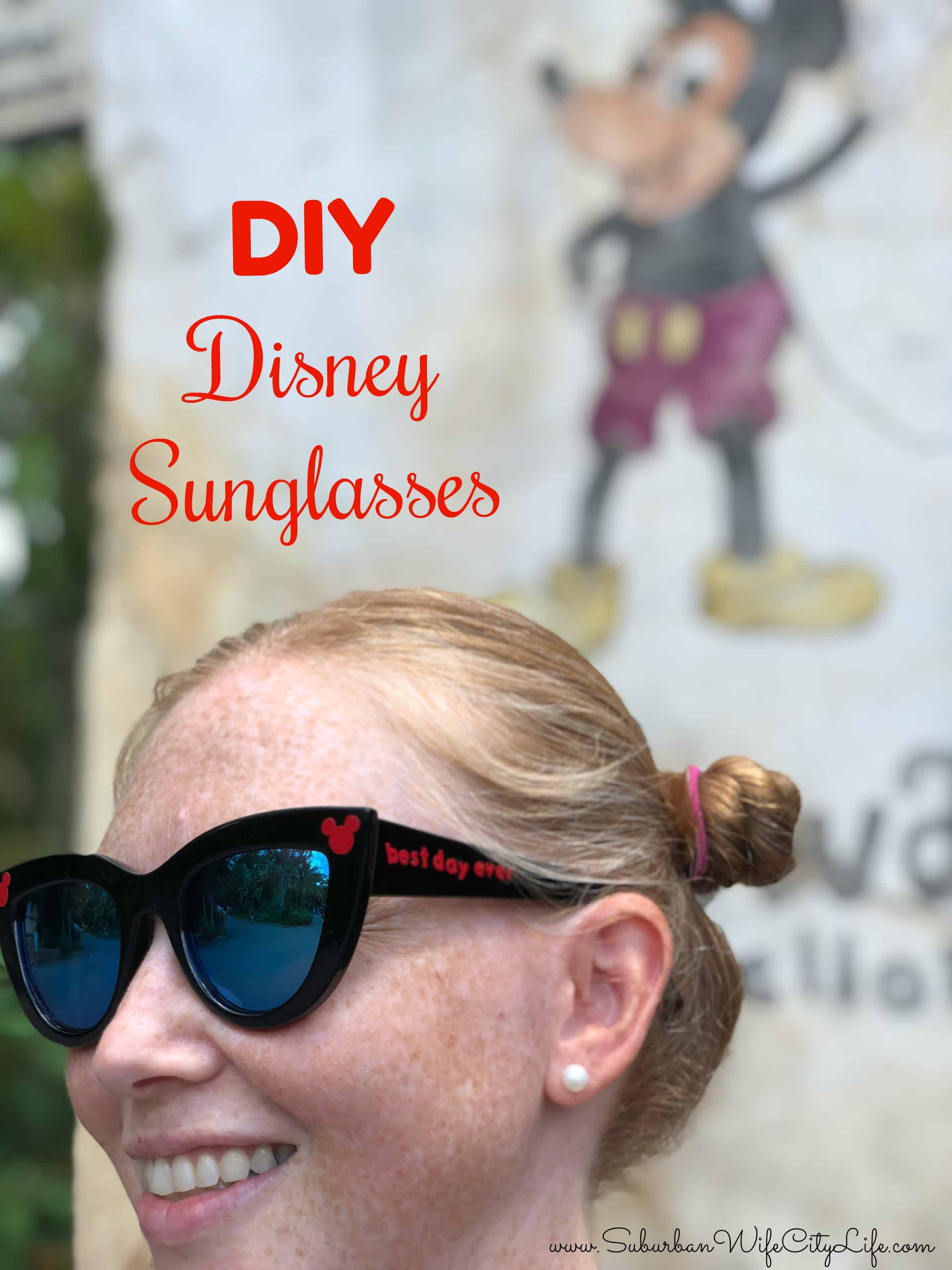 DIY Disney Sunglasses
