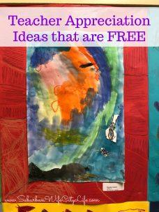 Teacher Appreciation Ideas that are FREE