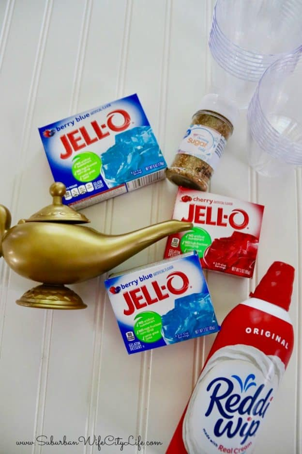 Genie Jello supplies