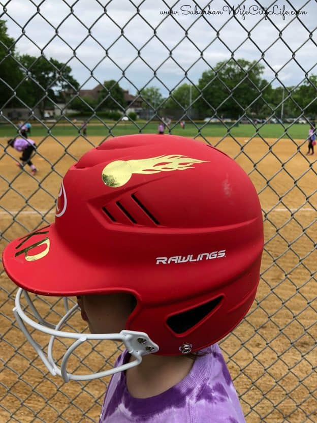 Personalized Softball helmet