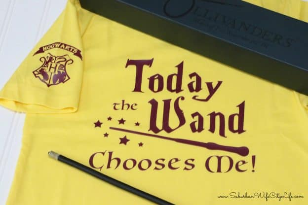 Today the Wand Chooses Me shirt for Universal Studios