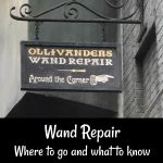Wand Repair at Universal Orlando