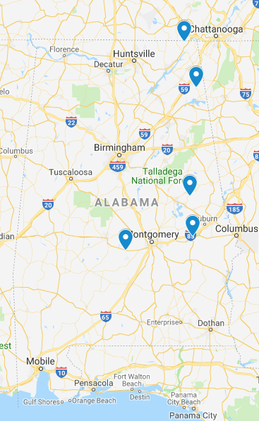 Alabama Junior Ranger Programs