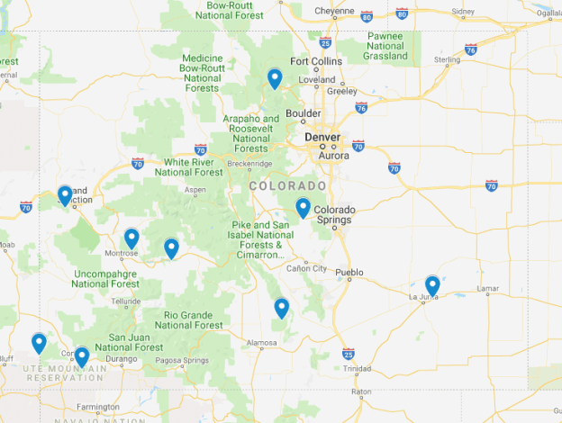 Colorado Junior Ranger Programs