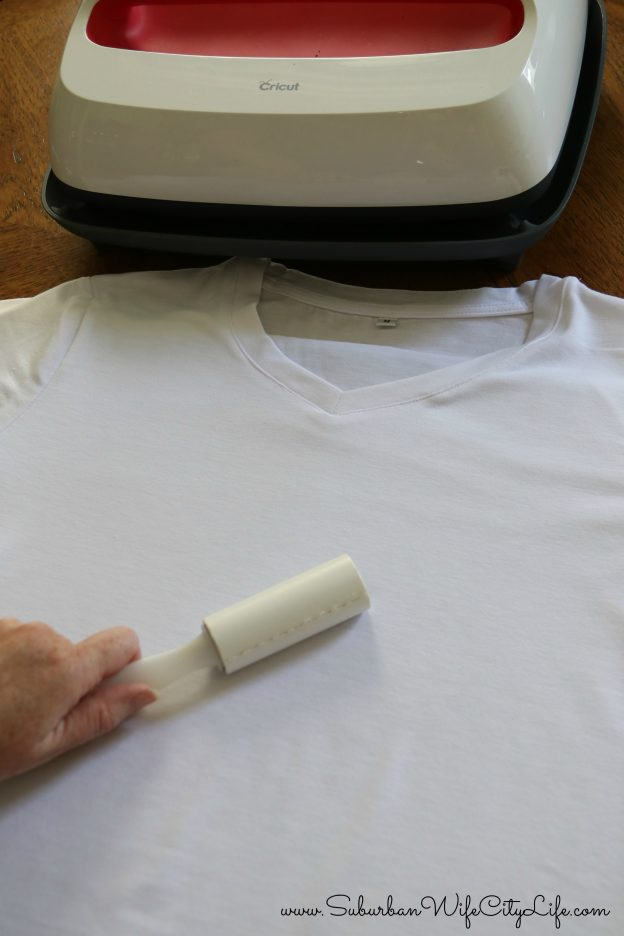 Cricut Infusible Ink Lint Roll shirt