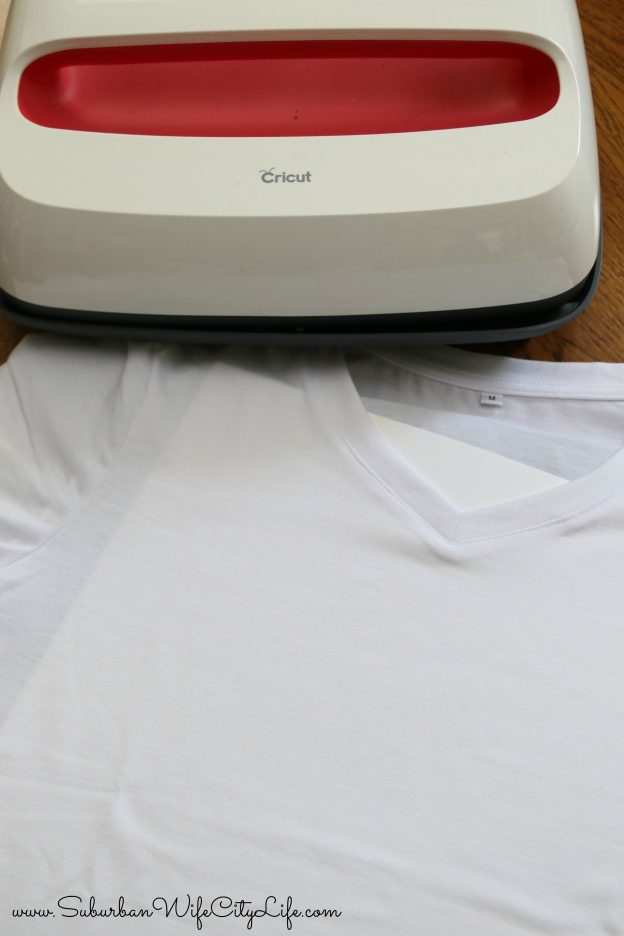 Cricut Infusible Ink and EasyPress 2 steps
