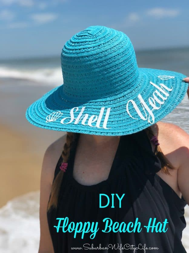 DIY Floppy Beach Hat