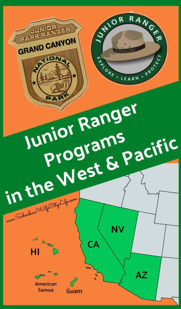 Junior Ranger Programs in the West & Pacific