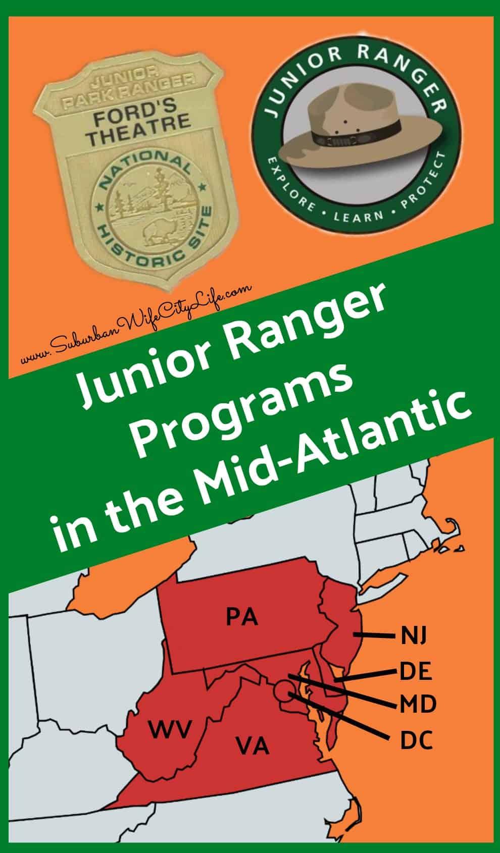 Junior Ranger Programs in the Mid-Atlantic