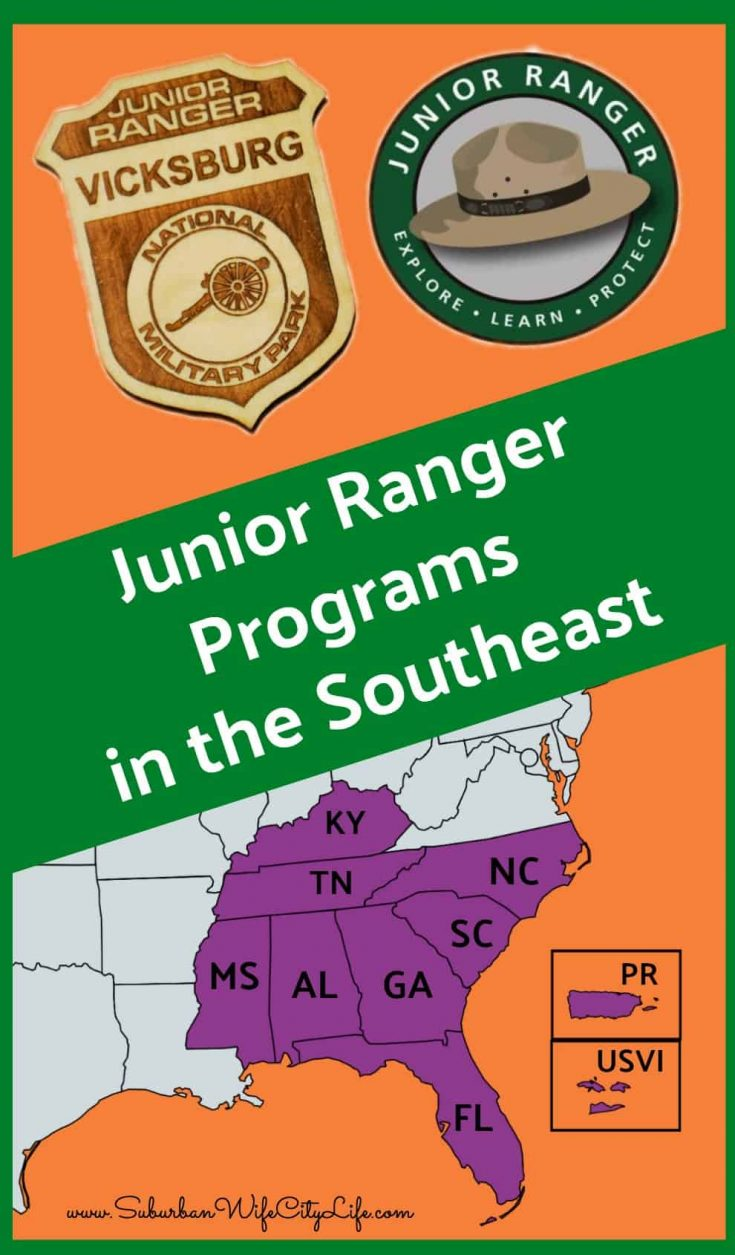 Junior Ranger Programs in the Southeast