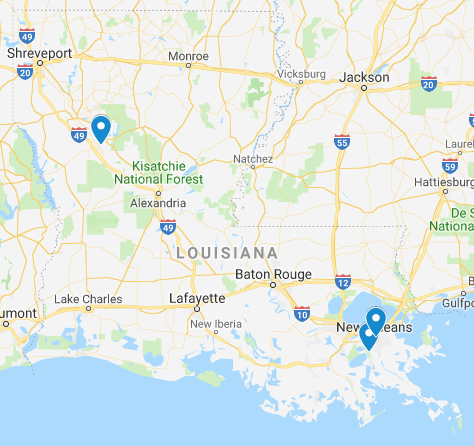 Louisiana Junior Ranger Programs