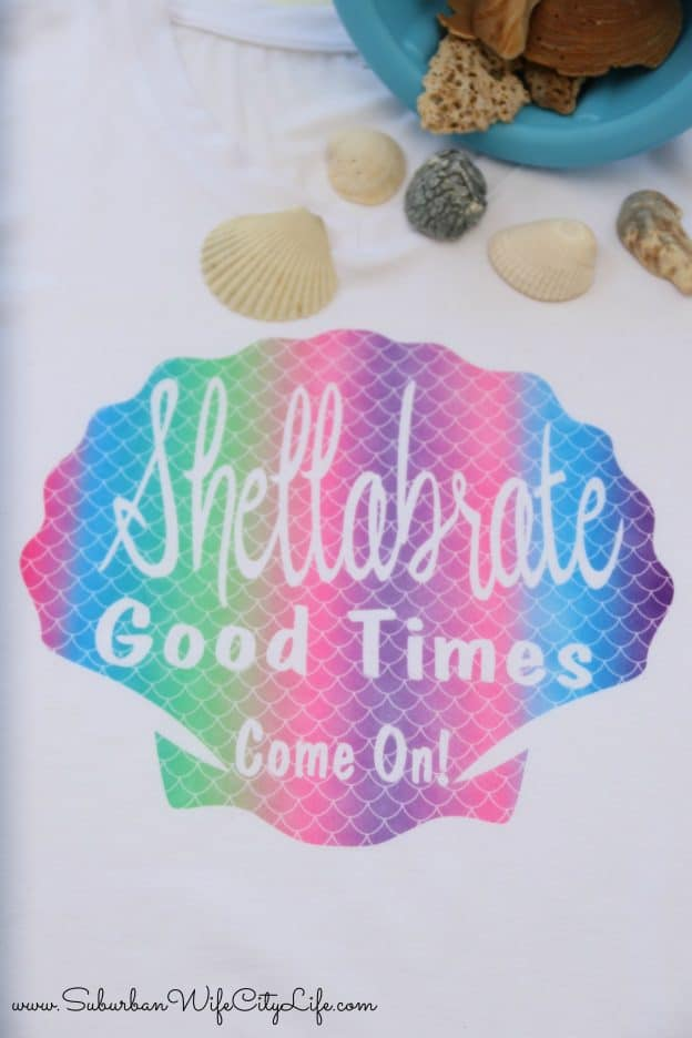 Shellabrate Good Times Come On! Shirt