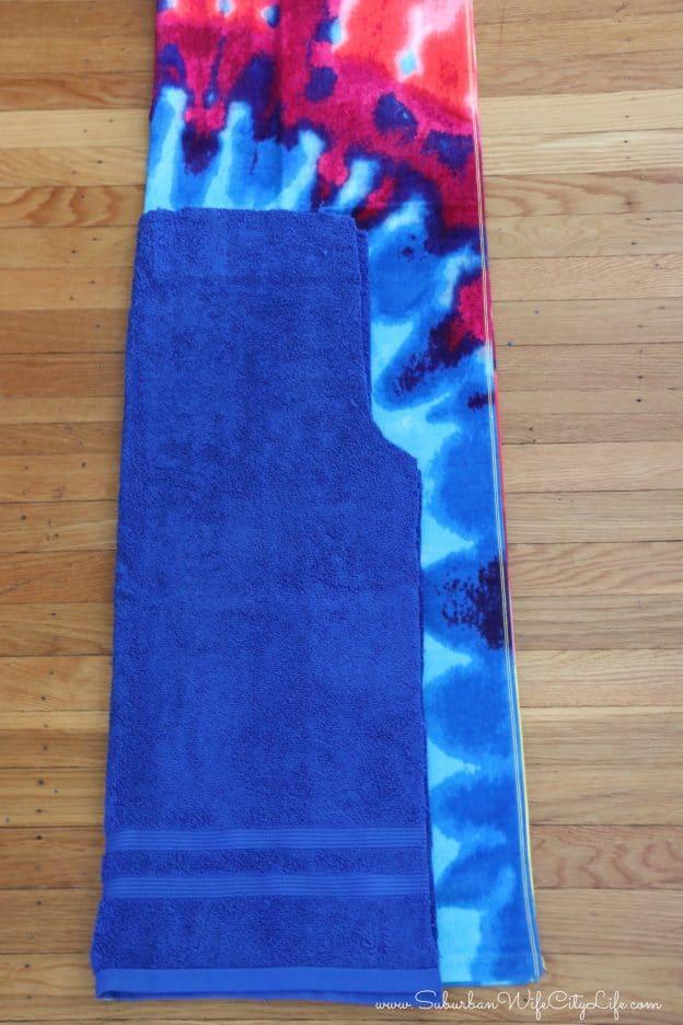 Towel pants pattern