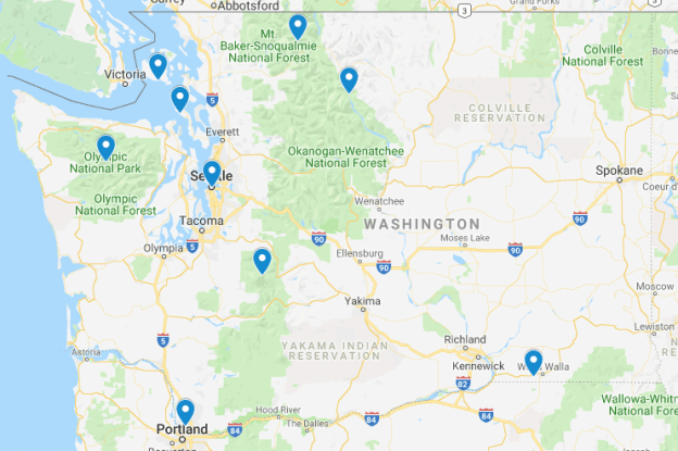Washington Junior Ranger Programs