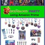 Descendants Party using Amazon Prime