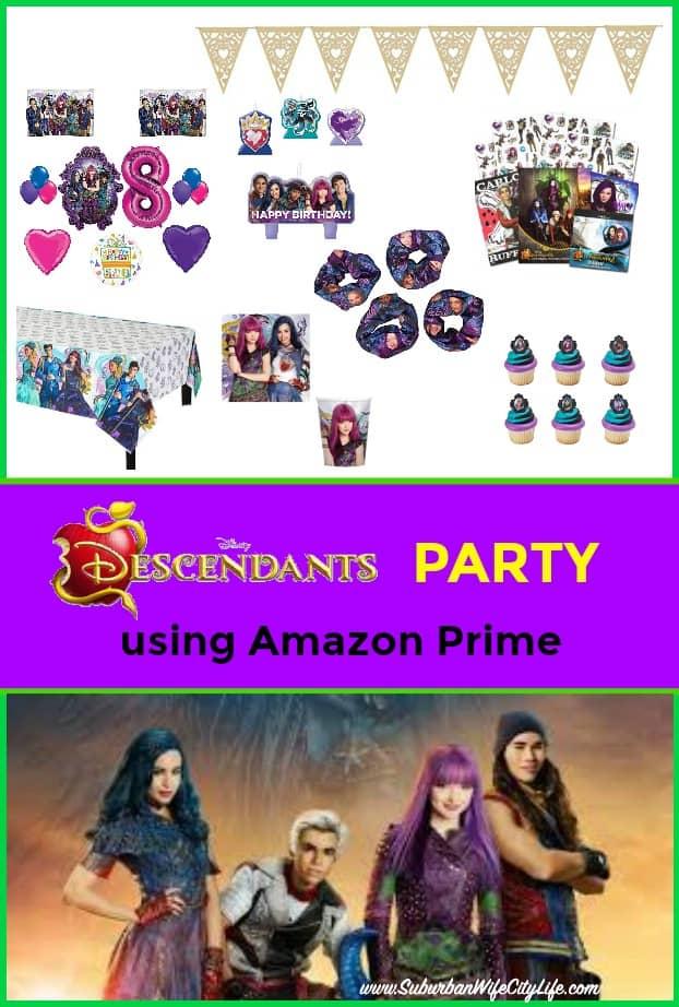 Descendants Party Amazon