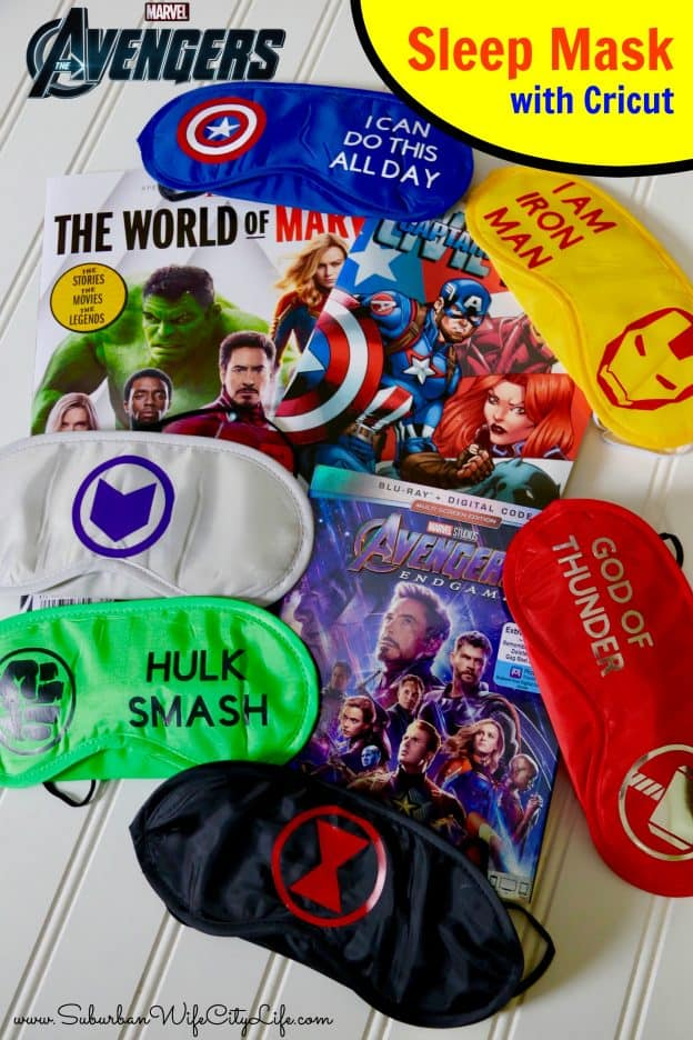 Sleep Mask Avengers