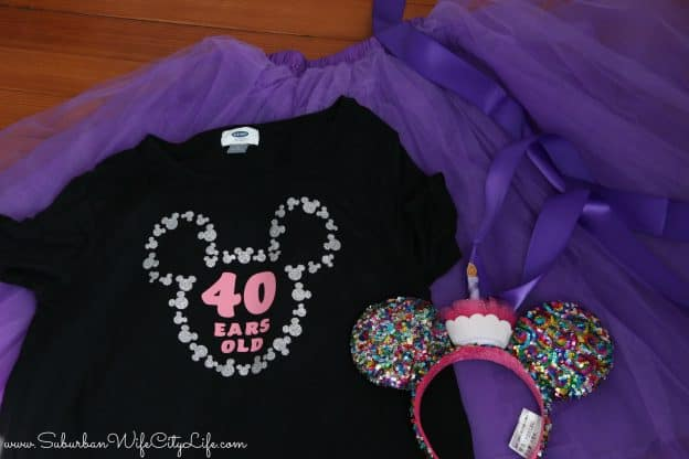 Birthday Outfit for Disney