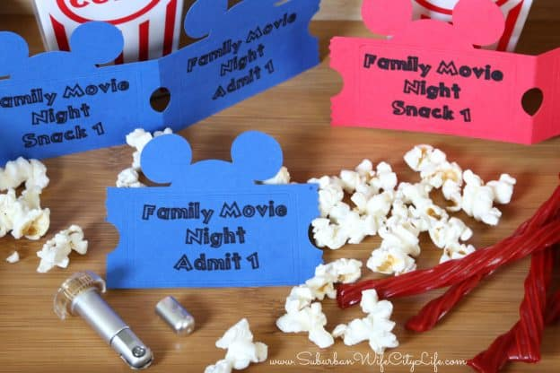 Disney Family Movie Night Tickets