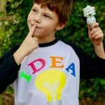 Bright Idea costume DIY