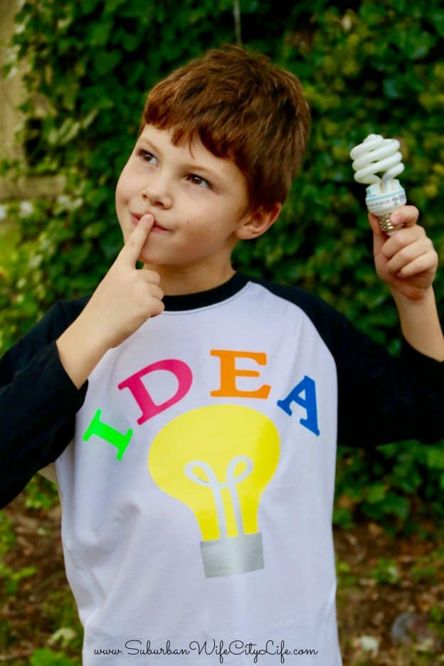Bright Idea costume DIY