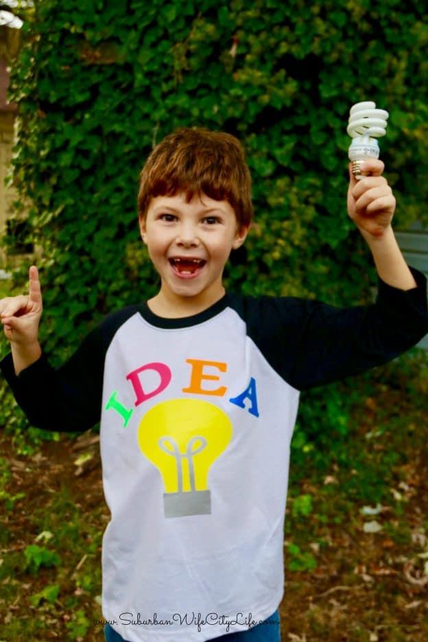 Bright Idea shirt Cricut