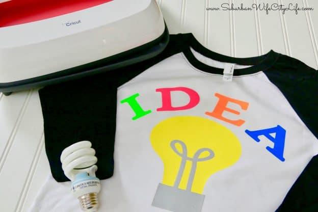 Bright Idea shirt costume