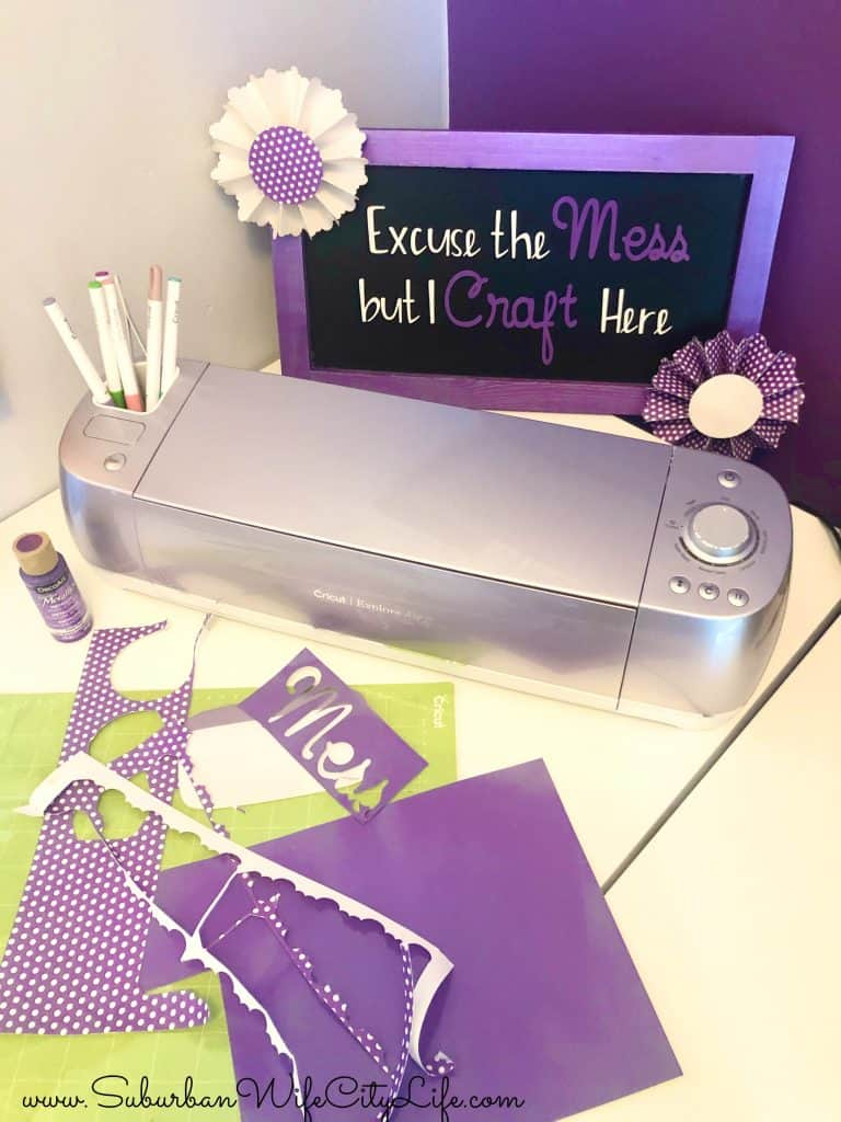 Craft Room Sign with Cricut
