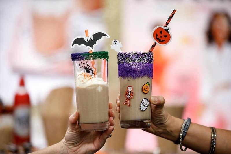 Spooky Milkshakes