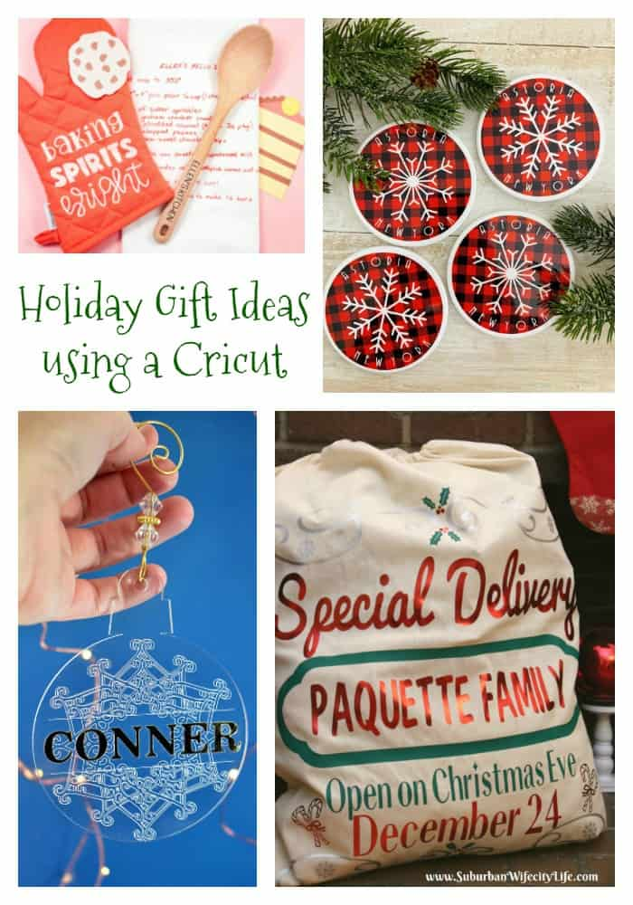 Cricut Holiday Gift Ideas