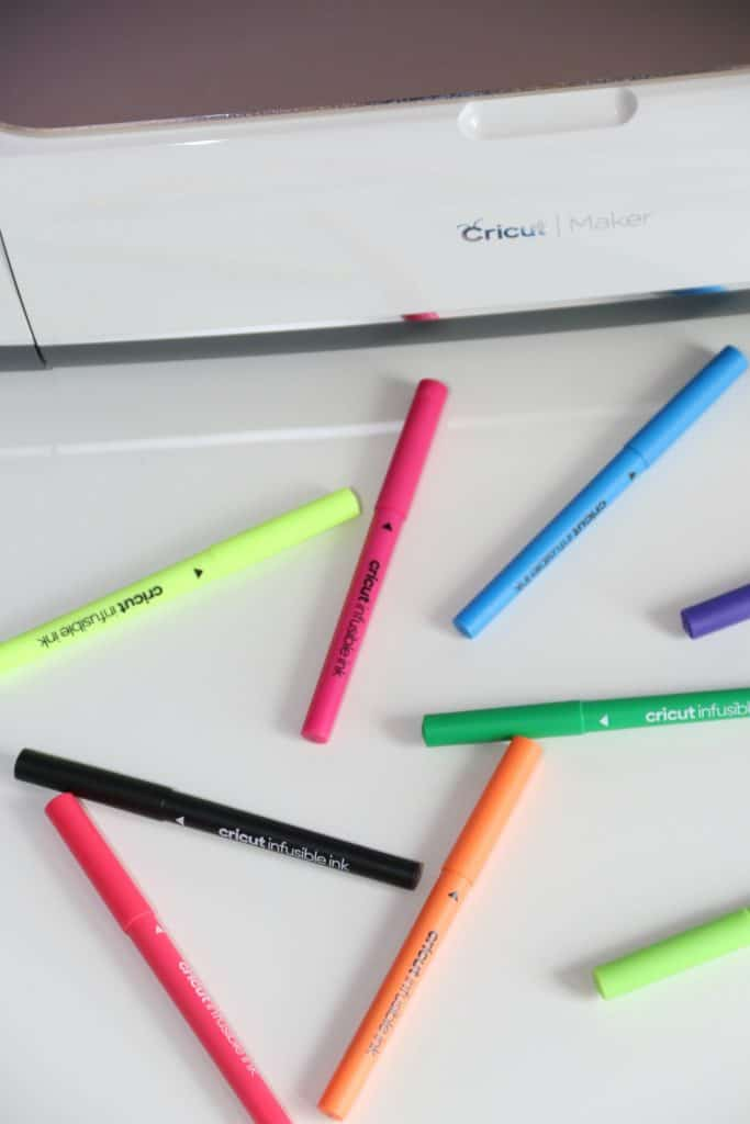 Cricut Infusible Ink Pens are great for starting out with a Cricut