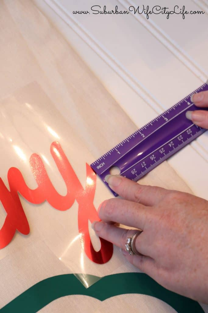Measuring Cricut Projects