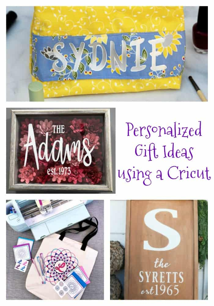 Personalized Gifts with a Cricut