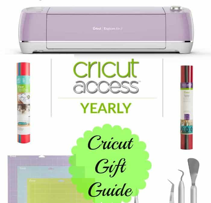 Cricut Gift Guide -What you need to get started with a Cricut
