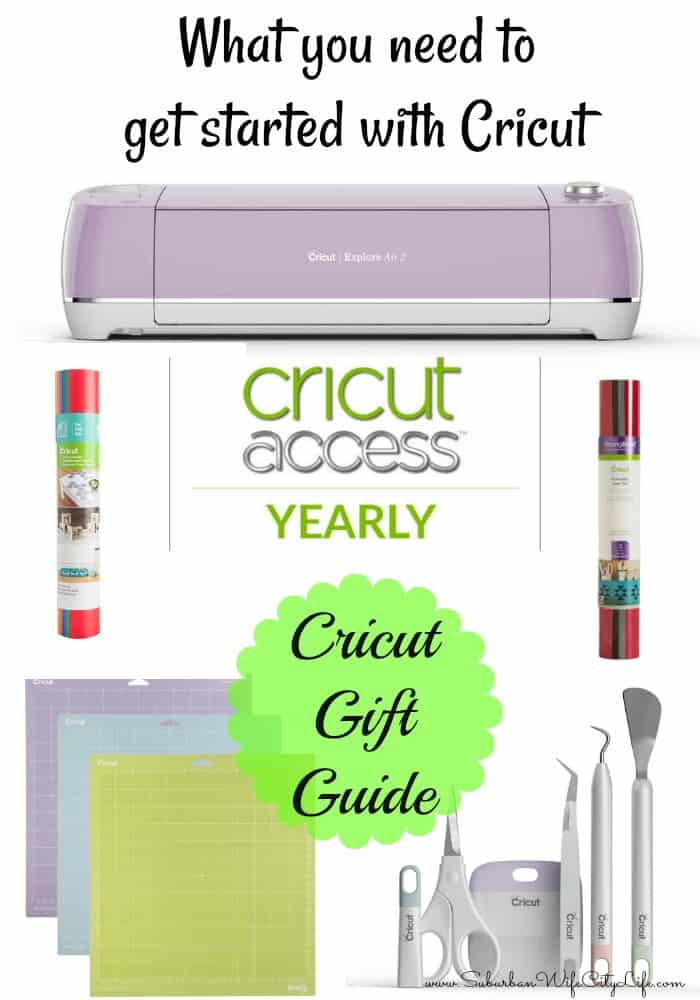 What you need to get started with Cricut