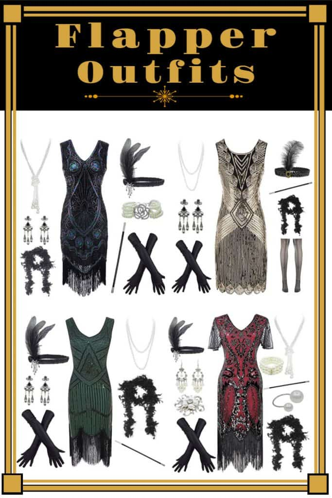 Flapper Outfits