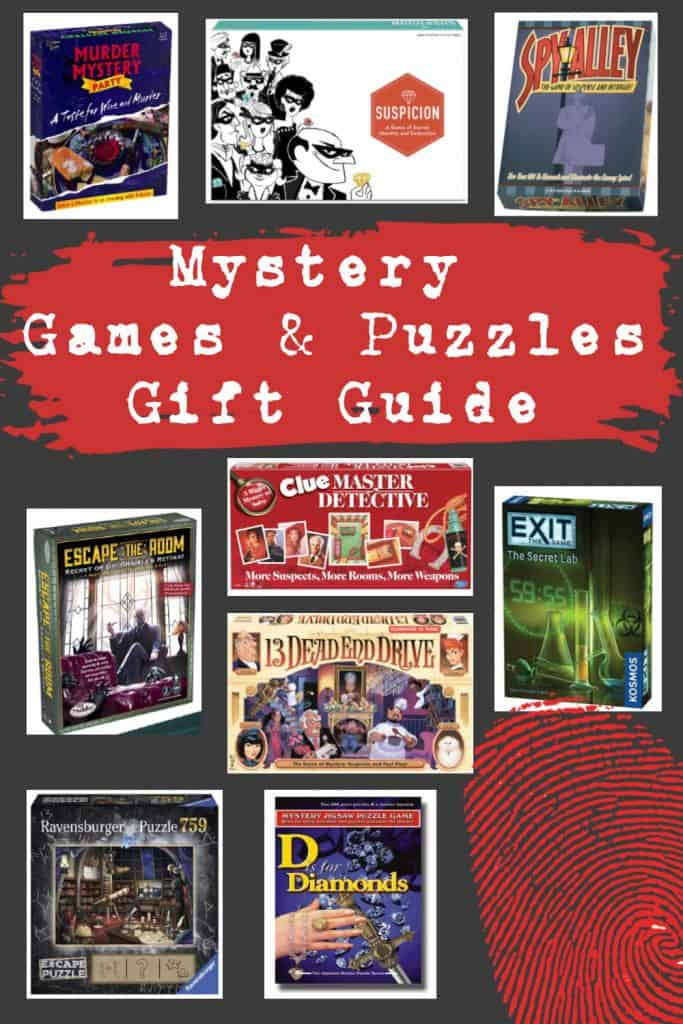 Mystery Games & Puzzles