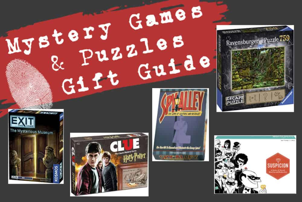 Mystery Games and Puzzles Gift Guide
