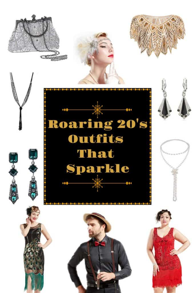 Roaring 20's Outfits that Sparkle