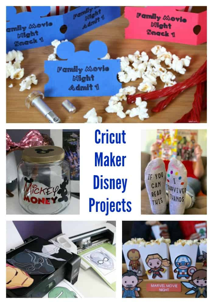 Cricut Maker Disney Projects