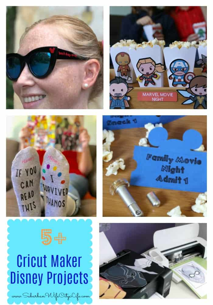 Disney Projects with the Cricut Maker