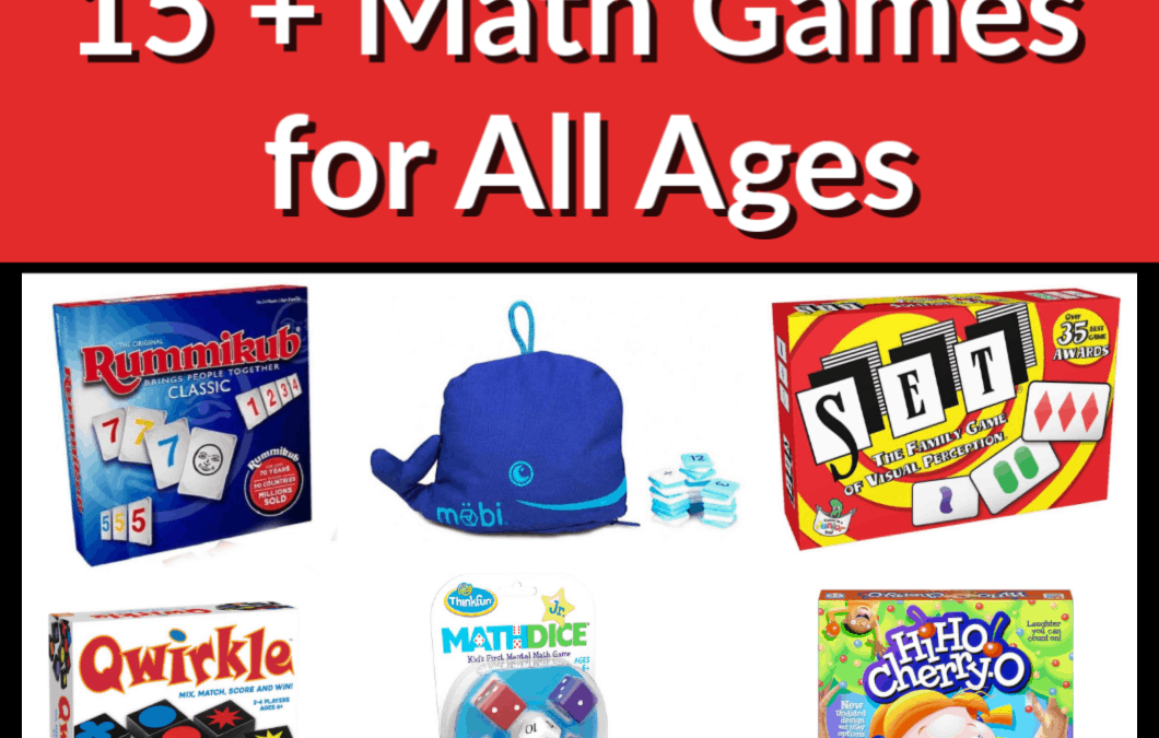 15+ Math Games for All Ages