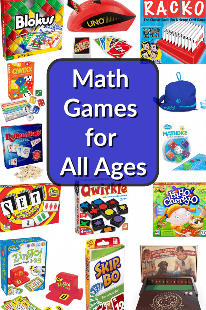Math Games for All Ages