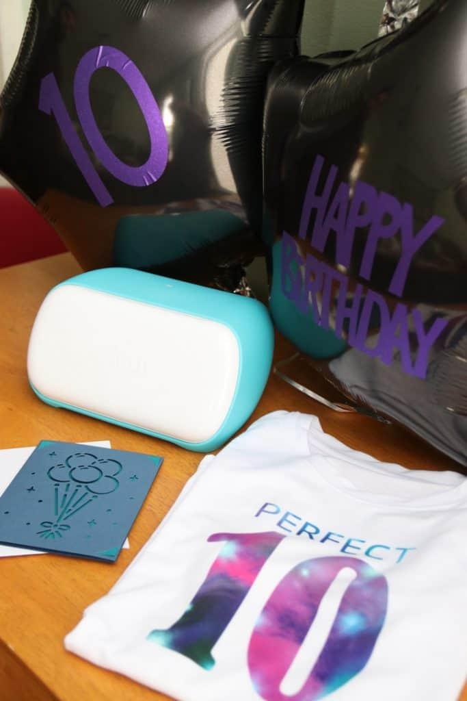 Cricut Joy can make birthdays personal