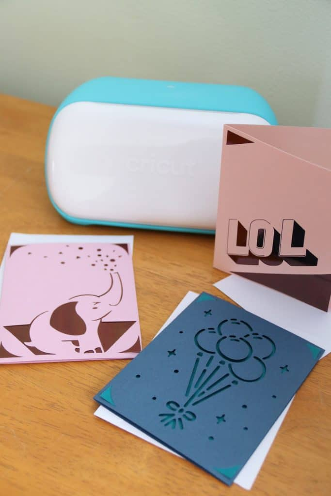 Making Cards with Cricut