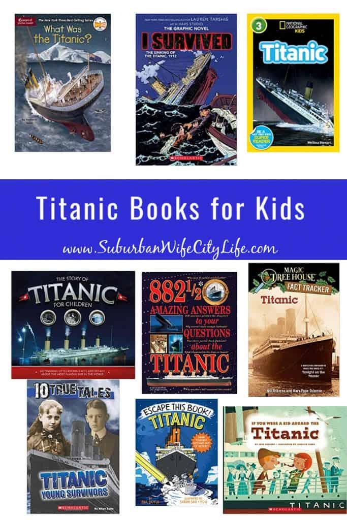 Titanic Books for Kids