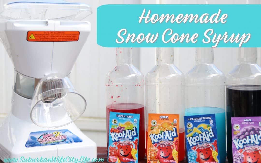 Snow Cone Syrup recipe